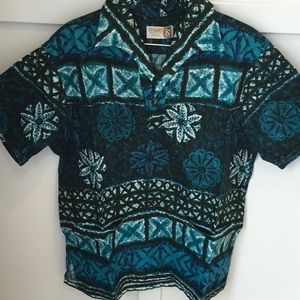 Vintage Iolani men's Hawaiian shirt size Large